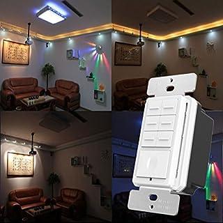 Bazaar ORVIBO ZigBee Controller Hub système de Maison Intelligente 7 Bouton scène Nous tapons