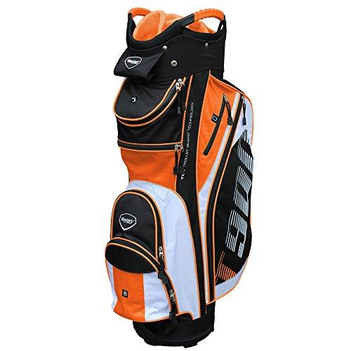 Masters Golf - T:900 Trolley Bag Black/White/Orange