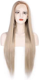 Best synthetic lace front blonde wig Reviews