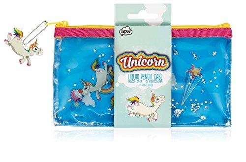 NPW-USA Unicorn Liquid Pencil Case