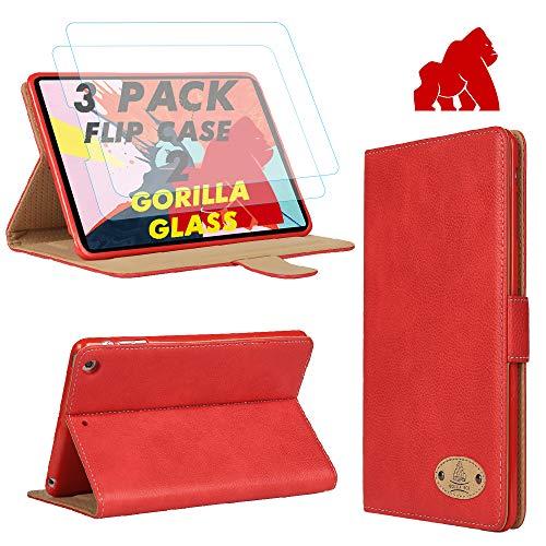 Gorilla Tech GT-Suede-Logo Tablet-Schutzhülle, Apple iPad Air 2, braun, Stück: 1