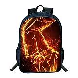 ULIIM Kinder Michael Jackson Rucksäcke Mode Kinder Schultasche Jungen Mädchen High Capacity Canvas Travel Schoolbags