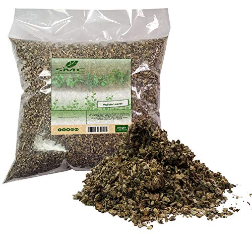 Mullein Leaf Cut & Sifted 1 Pound Bulk Bag-Velvet Dock or Velvet Plant aka...