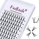 Volume Russo 10D 0.07mm D Curl 11mm Lunghezza Ciglia Russo Premade Fan Eyelash Extensions