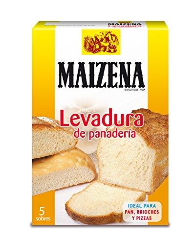 Maizena - Levure de boulangerie - Idéal pour le pain et les pizzas - 5 enveloppes au total 27,5 g