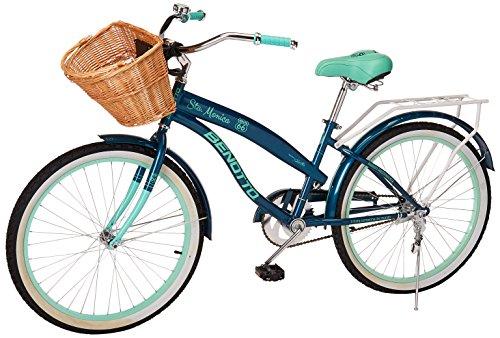 Benotto MRDSTM2401UNAZ Bicicleta de Acero Rodada R24, Dama,1 Velocidad