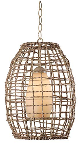 Kenroy Home Casual 1 Light Pendant,17 Inch Height, 12 Inch...