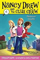 top 10 nancy drew books Sleepover Sleuths(Nancy Drew&Crew Clue#1)