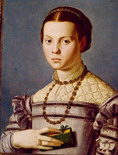 Posterazzi Fanciulla di Casa Medici Poster Print by Agnolo Bronzino (1503-1572) Italy Florence Galleria Degli Uffizi, (24 x 36), Varies