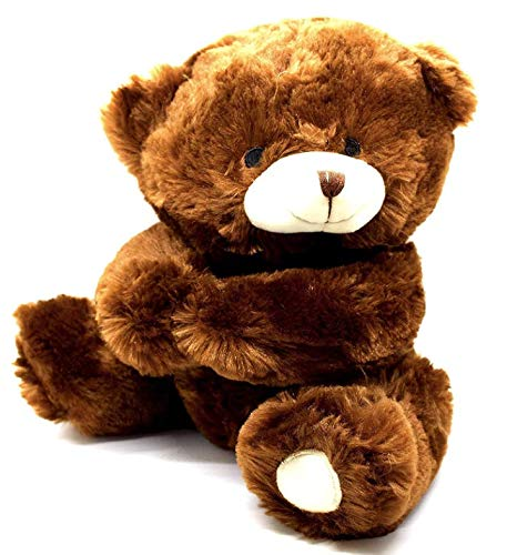 Harnel Super Soft Brown Plush Teddy Bear - 11 inches