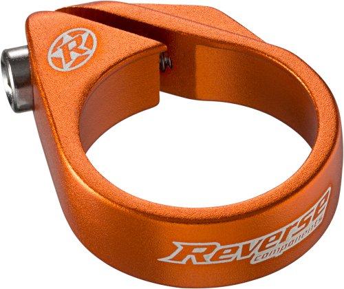 Reverse Bolt Clamp Sattelklemme 34.9mm orange