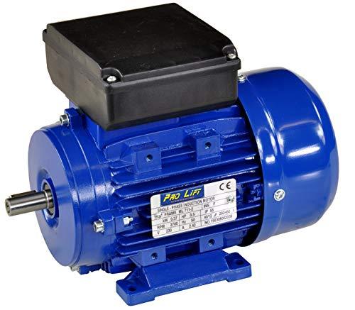 Pro-Lift-Werkzeuge 1-Phasen Drehstrommotor 0,37 kW 230 V Elektromotor 2780 U/min Industriemotor electric motor B3 Drehstrom 370W
