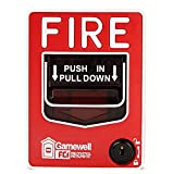 Gamewell-FCI MS-7 Fire Alarm Dual Action Pull Station, Red