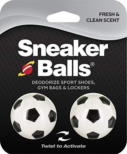 Sof Sole Unisex-Erwachsene SofSole SneakerBalls Football Shoe Deo Schuhdeodorants, Mehrfarbig (White and Black), Einheitsgröße