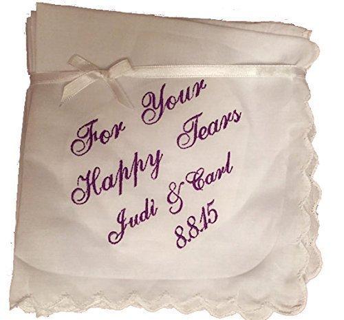 handkerchief name date or