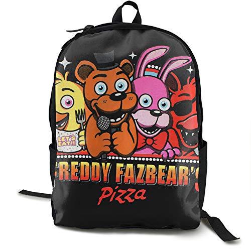 Freddie'S Five Nights At Freddy'S (64) Mochila de viaje impermeable para gimnasio, escuela, compras, yoga, senderismo, playa