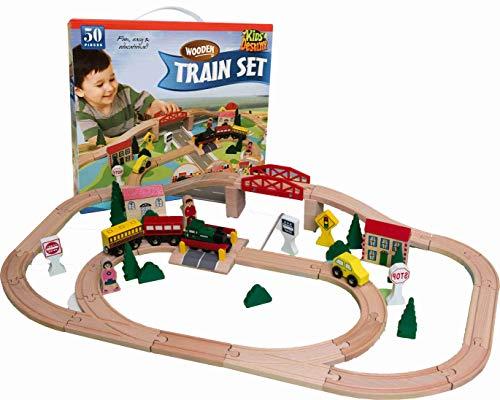 Kids Destiny Wooden Train Set...