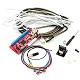 Brook Wireless Fighting Board with Headers/Pins + Cables Joystick/Button Harness Universal Fight Board PCB DIY Kit for PS4 Switch PS3