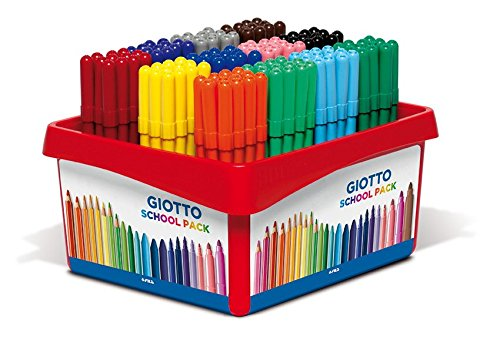 Giotto Turbo Color Schoolpack 144 Pz