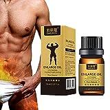 Sweetds Men 100% Aceite de semilla de jojoba natural Aceites de agrandamiento de polla grande Fórmula a base de hierbas...
