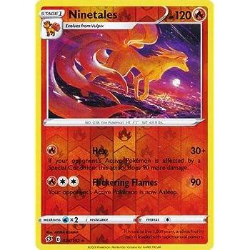 Pokemon Rebel Clash Ninetales V 26//192