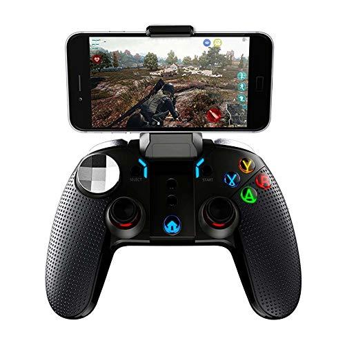FXQIN Controlador de Juegos Bluetooth inalámbrico Game Controller Joystick para Gamepad Compatible con Android Smartphone Tablet PC Sistema Android, USB Recargable Mango de Juego