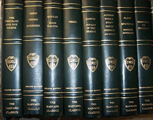 The Harvard Classics Deluxe Edition Registered Edition