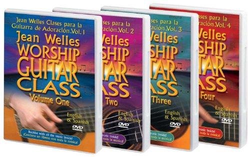 classement un comparer Jean Wels admire la classe de guitare – volume du DVD.  Kits 1, 2, 3, 4