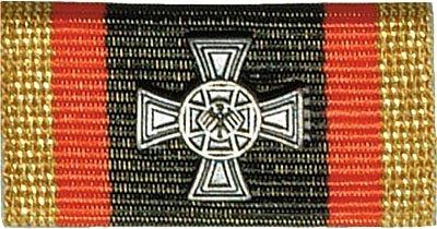 Weitere... Bandschnalle BW Ehrenkreuz Silber