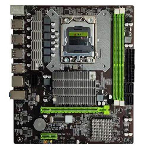Mogzank la Placa Base X58 PRO2 Admite la Memoria del Servidor RECC CPU LGA1366 Quad-Core Six-Core 5570