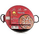 La Chinata Kit paella gourmet de la roja con paellera