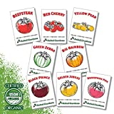 Heirloom Tomato Seeds - 8 Varieties of Organic Non GMO Seed for...