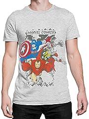 Marvel Comics - Camiseta para hombre Avengers