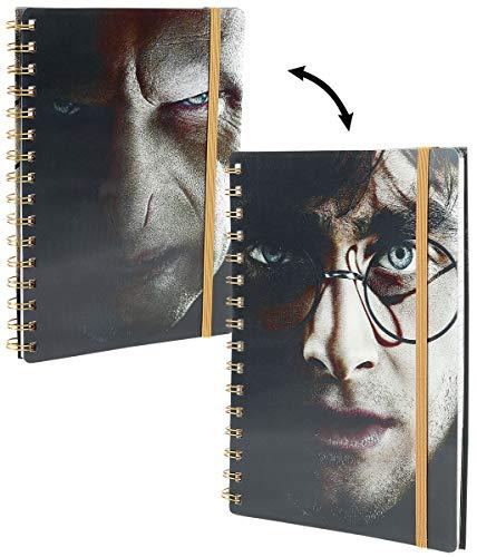 Harry Potter Carnet à spirales 3D Harry/Voldemort A5