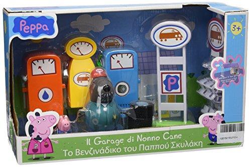 Giochi Preziosi Pig Peppa Garage Nonno Cane, Multicolore, 833076
