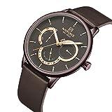 Relojes De Pulsera,Reloj De Los Hombres De La Moda del Reloj del Cuarzo del Negocio De La Prenda Impermeable Simple Ultrafina, E