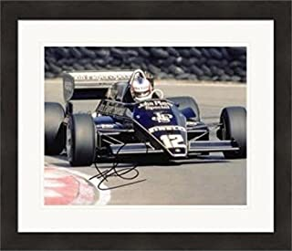 Nigel Mansell autographed 8x10 Photo (Formula One Champion) #1 Matted & Framed - Autographed Sports Photos