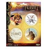 SD Juguetes - Sd02740 - Mundo Creativo - El Hobbit - Paquete de 4 Botones - la Serie A.