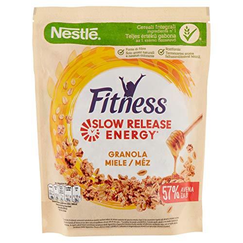 Cereales NESTLÉ Fitness granola - Copos de avena integral y