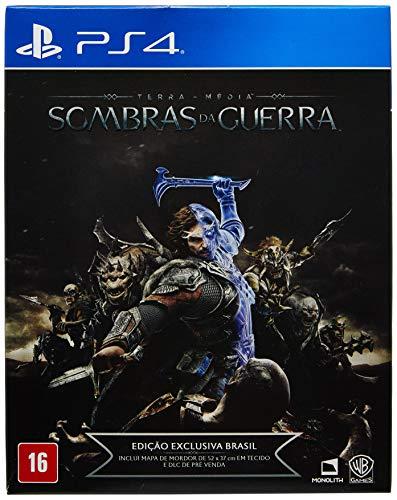 Sombras da Guerra - Edição Exclusiva Brasil - PlayStation 4