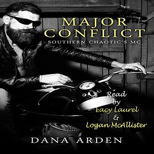 Major Conflict audiobook cover art