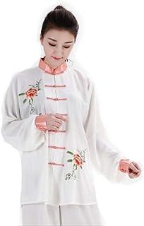 WUYIN Cotton Emboridery Tai Chi Uniform Martial Arts Kung fu taiji Suits(Size Chart in Last photo)