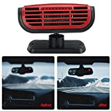 Fast Heating Plug Into Cigarette Lighter Car Heater, Auto Windshield Defroster, Portable for Car Air...
