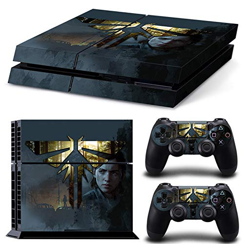 46 North Design Playstation 4 PS4 Folie Skin Sticker Konsole L.O.U.S aus Vinyl-Folie Aufkleber Und 2 x Controller folie