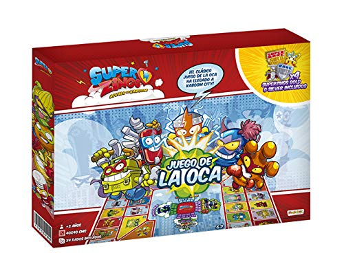 Vue Superzings Exclusivo Juego de la Oca, color rojo 1