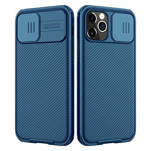 NILLKIN Funda Compatible con iPhone 12 Pro MAX, [Protección de la cámara]...