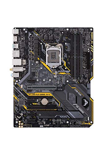 ASUS TUF Z390-Plus Gaming WiFI Mainboard Sockel 1151 (ATX, Intel Z370, DDR4-Speicher, 32 Gbit/s M.2, USB 3.1 Gen 2)