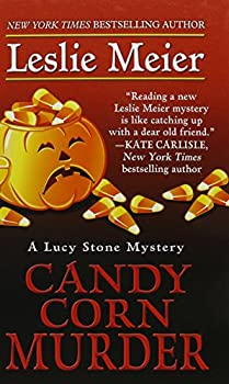 Hardcover Candy Corn Murder [Large Print] Book