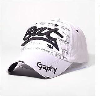 zhuzhuwen Sombrero de sombrilla de Beisbol para Hombre con Gorra de béisbol de Hip Hop 1