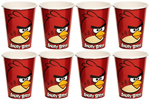 Amscan - Bicchieri Angry Birds 8Pz